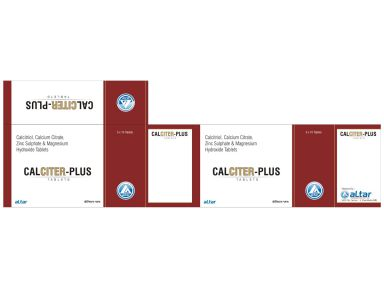 CALCITER PLUS - Altar Pharmaceuticals Pvt. Ltd.