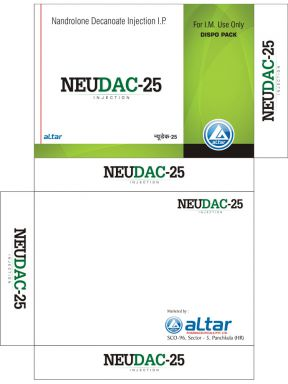 NEUDAC - 25 - Altar Pharmaceuticals Pvt. Ltd.
