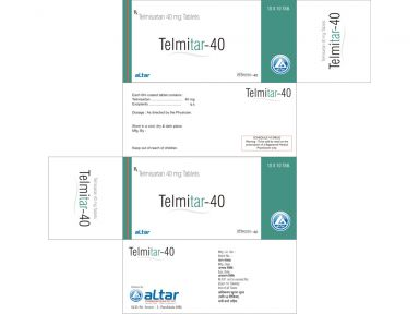 TELMITAR - 40 - Altar Pharmaceuticals Pvt. Ltd.