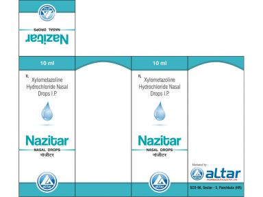 NAZITAR - Altar Pharmaceuticals Pvt. Ltd.