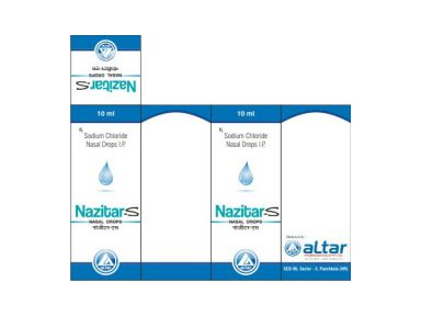 NAZITAR - S - Altar Pharmaceuticals Pvt. Ltd.