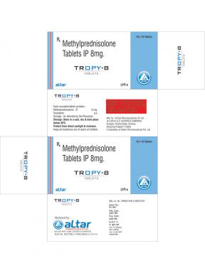 TROPY - 8 - Altar Pharmaceuticals Pvt. Ltd.