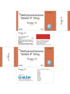 TROPY - 16 - Altar Pharmaceuticals Pvt. Ltd.