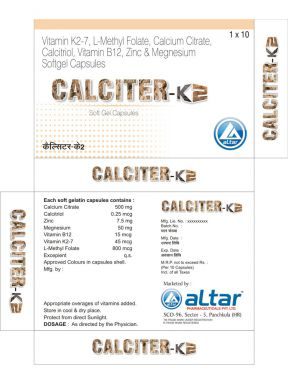 CALCITER K2-7 - Altar Pharmaceuticals Pvt. Ltd.