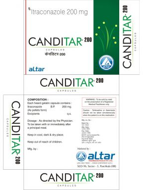 CANDITAR 200 - Altar Pharmaceuticals Pvt. Ltd.