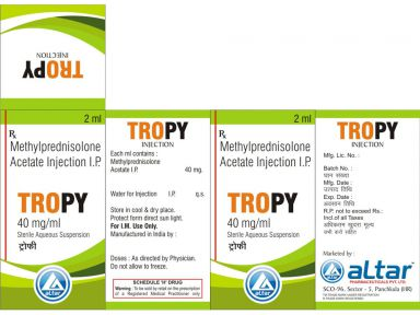 TROPY 80 - Altar Pharmaceuticals Pvt. Ltd.
