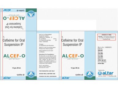 ALCEF - O - Altar Pharmaceuticals Pvt. Ltd.