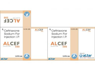 ALCEF - 500 - Altar Pharmaceuticals Pvt. Ltd.