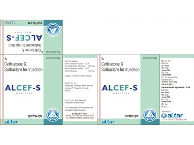 ALCEF - S 1500 - Altar Pharmaceuticals Pvt. Ltd.