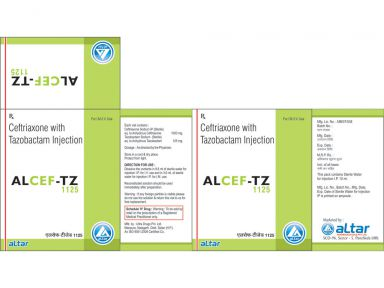 ALCEF - TZ 1125 - Altar Pharmaceuticals Pvt. Ltd.