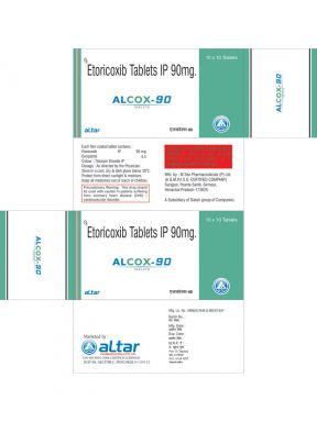 ALCOX - 90 - Altar Pharmaceuticals Pvt. Ltd.
