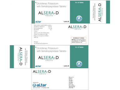 ALSERA - D - Altar Pharmaceuticals Pvt. Ltd.