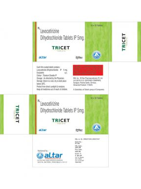 TRICET - Altar Pharmaceuticals Pvt. Ltd.