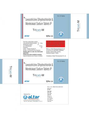 TRICET - M - Altar Pharmaceuticals Pvt. Ltd.