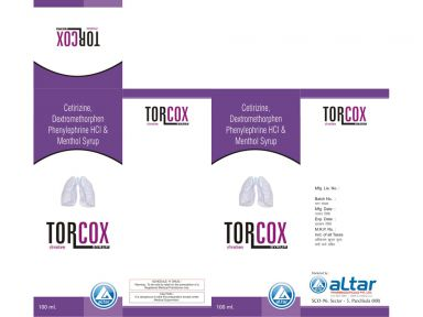TORCOX - Altar Pharmaceuticals Pvt. Ltd.
