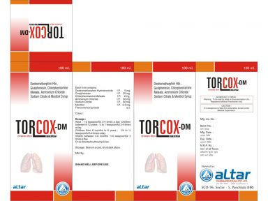 TORCOX-DM - Altar Pharmaceuticals Pvt. Ltd.