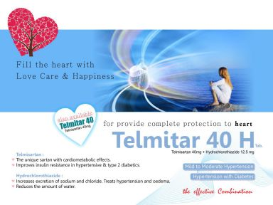 TELMITAR - H - Altar Pharmaceuticals Pvt. Ltd.