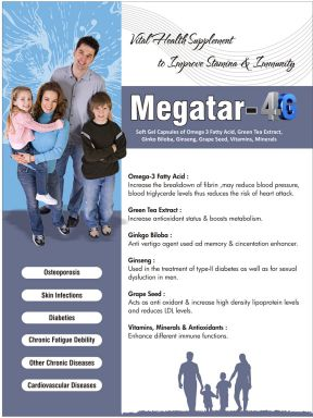 MEGATAR 4G - Altar Pharmaceuticals Pvt. Ltd.