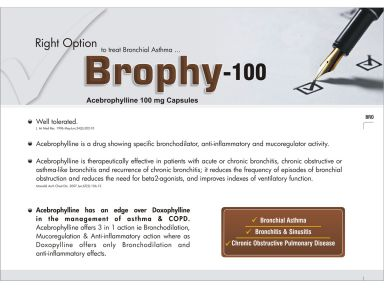 BROPHY - 100 - Altar Pharmaceuticals Pvt. Ltd.