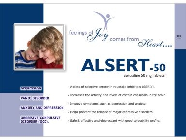 ALSERT - 50* - Altar Pharmaceuticals Pvt. Ltd.